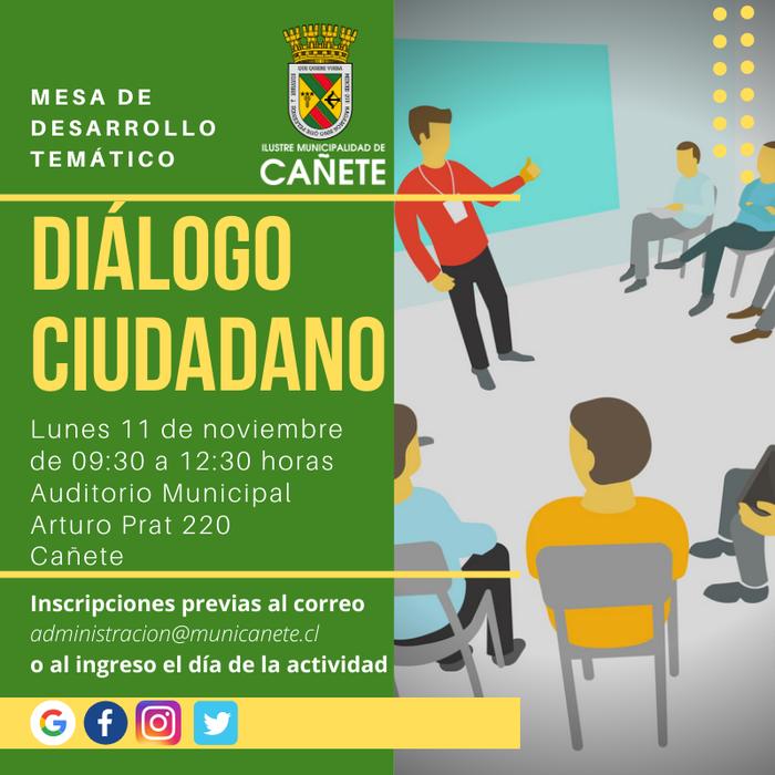 INVITACIÓN A DIÁLOGO CIUDADANO EN CAÑETE