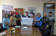 ALCALDE RECIBE TERRENO QUE BENEFICIARÁ A DISTINTAS AGRUPACIONES Y JUNTAS DE VECINOS DE PELECO