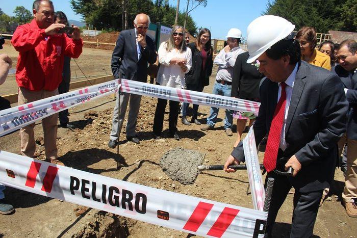 COMENZÓ CONSTRUCCIÓN DE GIMNASIO POLIDEPORTIVO PARA CAÑETE