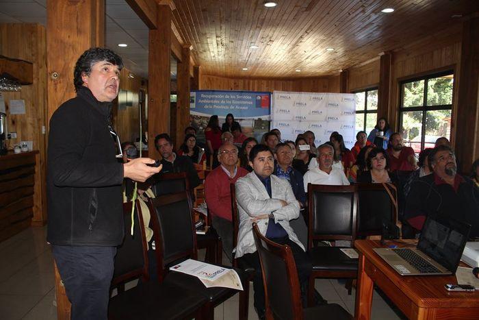PRELA PRESENTÓ ESTUDIOS CIENTÍFICOS QUE REALIZA EN EL LAGO LANALHUE