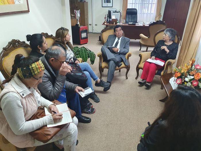 ALCALDE SE REUNIÓ CON CENTRO DE PADRES DE ESCUELA DE PONOTRO