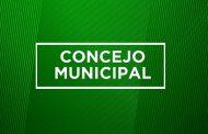 PUNTOS DE TABLA PARA SESIÓN DE CONCEJO MUNICIPAL,  LUNES 09.03.2020