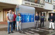 EMPRESAS CAÑETINAS DONAN TRES SANITIZADORES INDIVIDUALES AL MUNICIPIO