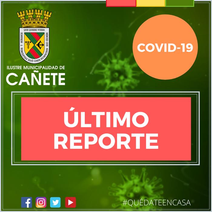 Un nuevo caso de contagio por Covid-19 se registra en Cañete