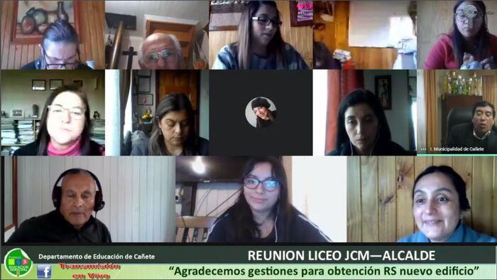 COMUNIDAD DEL LICEO JOSE DE LA CRUZ MIRANDA AGRADECIÓ GESTIONES DEL ALCALDE PARA PROYECTO DEL NUEVO EDIFICIO