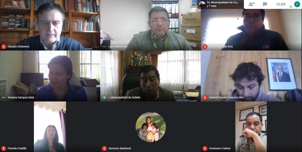 CONSEJO COMUNAL DE SEGURIDAD PÚBLICA ALCANZA ALGUNOS ACUERDOS PDE PLANIFICACIÓN PARA EL AÑO 2021