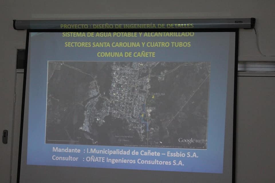 MINISTERIO DE DESARROLLO SOCIAL ENTREGA RS A PROYECTO SANITARIO QUE OTORGARÁ RED DE ALCANTARILLADO Y AGUA POTABLE A SECTORES DE SANTA CAROLINA Y CUATRO TUBOS