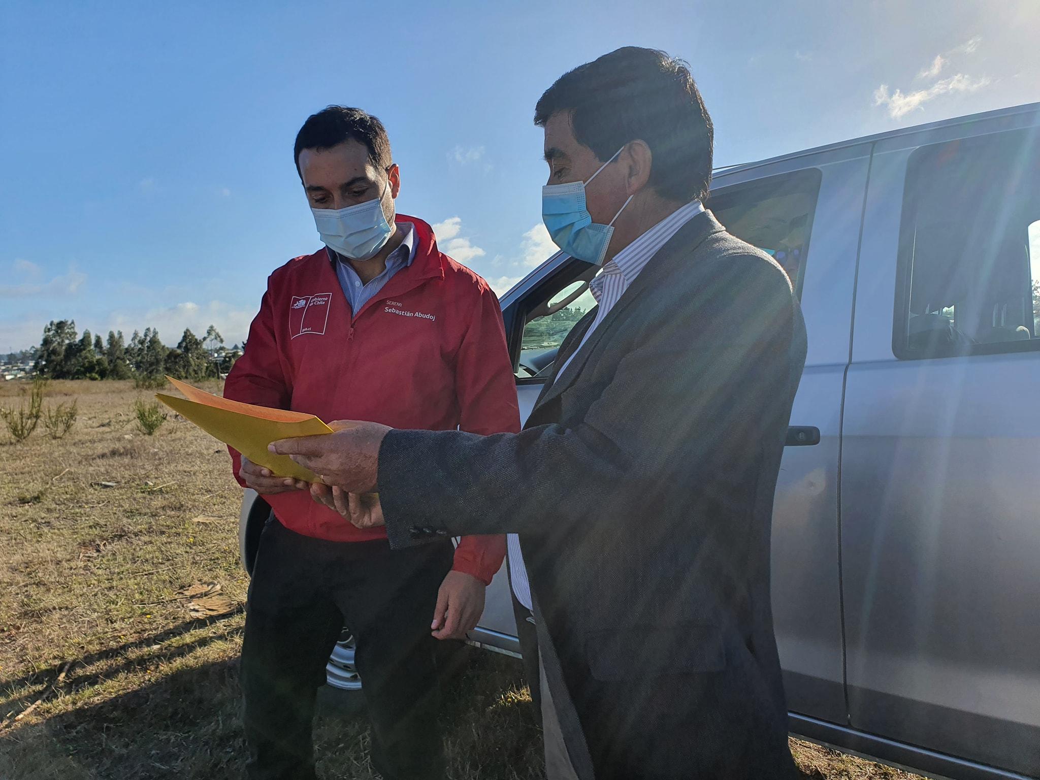 ALCALDE RADONICH Y SEREMI DE VIVIENDA SE REÚNEN CON COMITÉS QUE INTEGRAN PROYECTO SANTA LUISA
