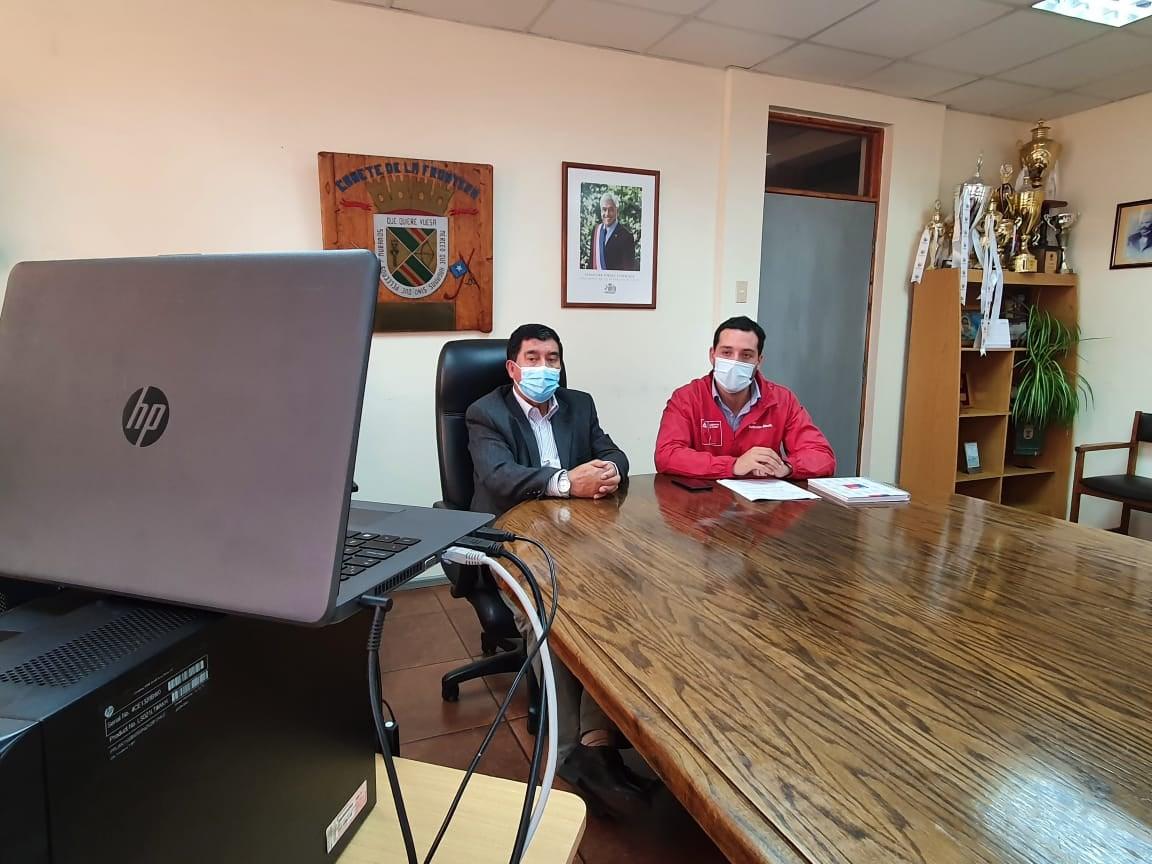SEREMI DEL MINVU Y ALCALDE RADONICH PARTICIPAN DE REUNIÓN INFORMATIVA SOBRE PLAN ESPECIAL HABITACIONAL ARAUCO