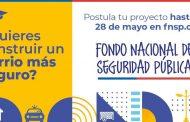 ORGANIZACIONES SOCIALES CAÑETINAS YA PUEDEN POSTULAR AL FONDO NACIONAL DE SEGURIDAD PÚBLICA