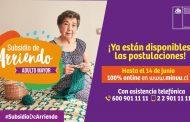 CAÑETINOS ADULTOS MAYORES YA PUEDEN POSTULAR A SUBSIDIO DE ARRIENDO