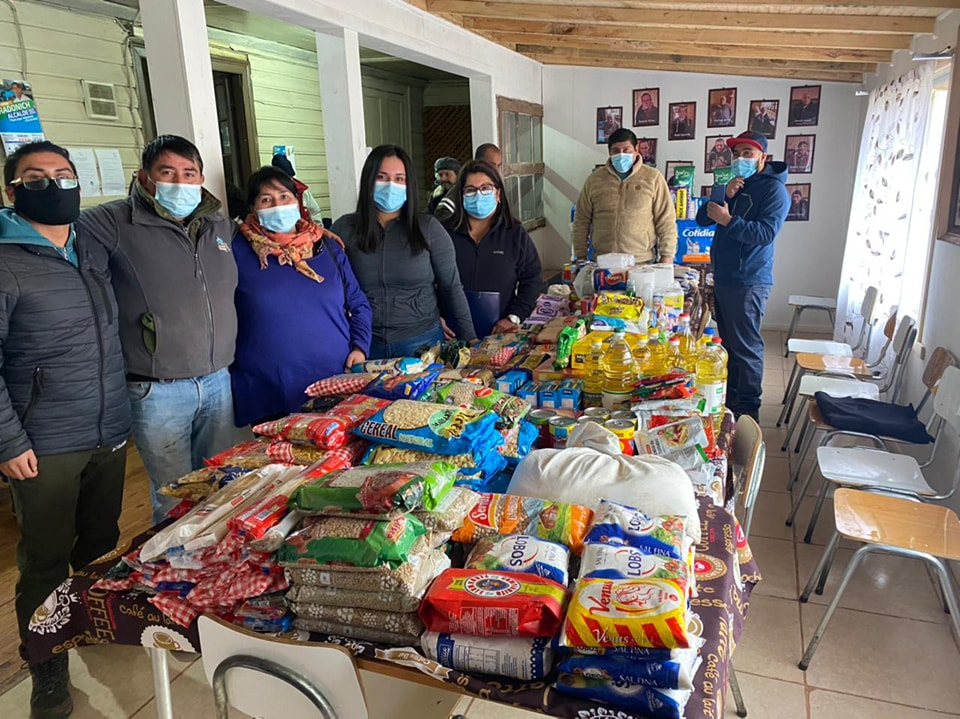 VECINAS Y VECINOS DEL SECTOR RURAL DE CAÑETE ENTREGAN AYUDA SOCIAL AL ALBERGUE MUNICIPAL