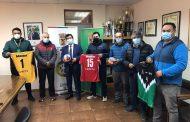 MUNICIPIO ENTREGÓ EQUIPAMIENTO DEPORTIVO A CLUB DE HANDBALL DE CAÑETE