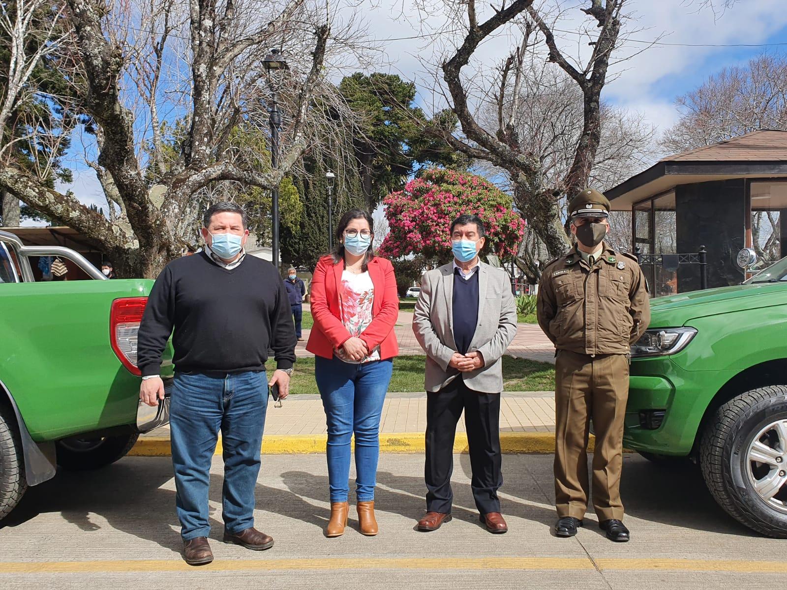 Renuevan parque vehicular de Carabineros de Cañete